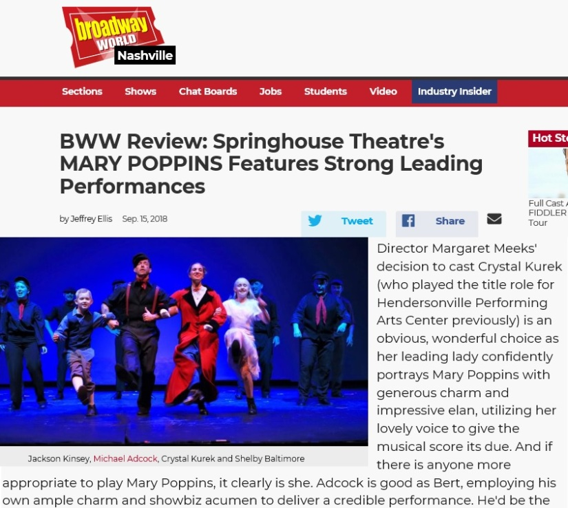 Broadway World MP Review